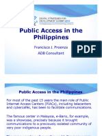 Public Access in the Philippines