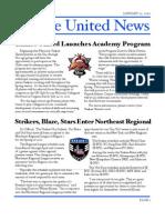 Yankee United F.C. January 2010 Issue