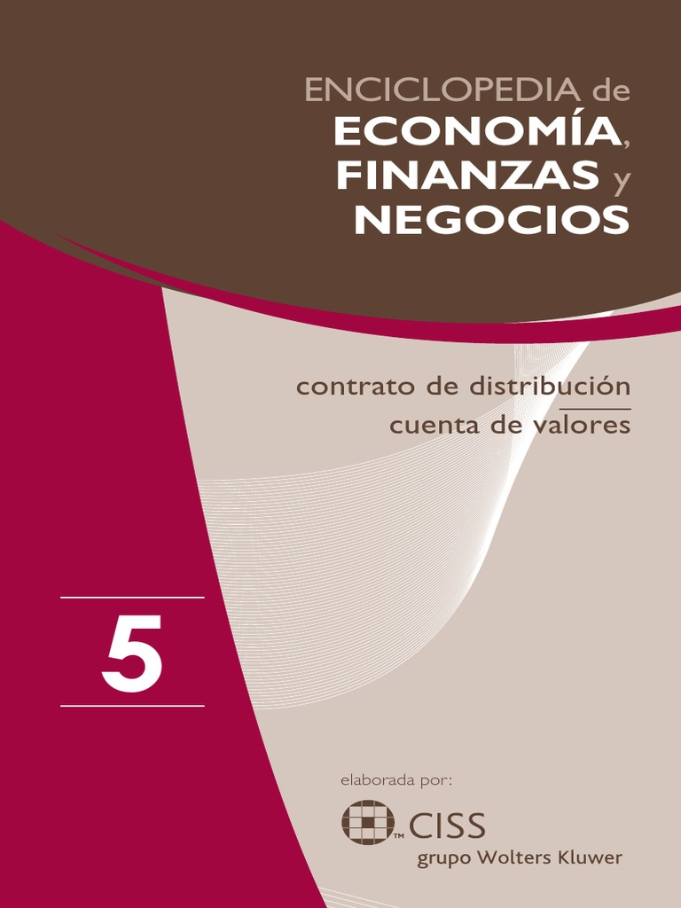 info for 5b29c 2ce1d Enciclopedia de Economía y Negocios Vol. 05