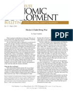 Mexico's Failed Drug War, Cato Economic Development Bulletin No. 13
