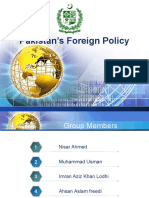 Pakistan's foreign Policy