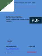ESTUDIO SOBRE _RIDOS Geología Legislación Medio Ambiente Normativa Explotación Tratamiento