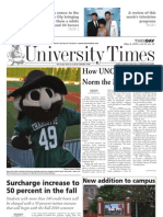 The University Times - May 4, 2010