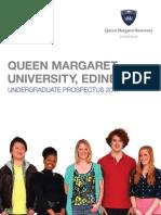 QMU Undergraduate Prospectus 2011