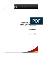 AppWall PCI 6.6 Compliance White Paper