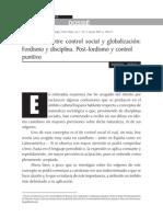 Bergalli - Relaciones Entre Control Social y Globalizacion