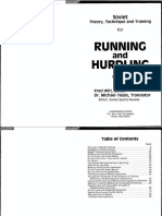 Soviet Theory, Technique and Training for Running and Hurdling Vol 1 Yessis 1984 0-87x