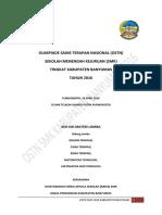 Aturan Umum Dan Kisi-kisi OSTN SMK 2016 Kab. BMS
