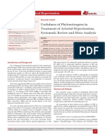 ACH-1-Usefulness of Phytoestrogens in Treatment of Arterial Hypertension. Systematic Review and Meta-Analysis106