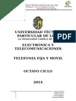 Diseño red de Telefonía Fija