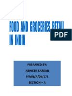 Groceries and Food Retail in India