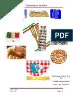 3 Gastronomia de Italia