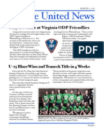 Yankee United F.C. March 2010 Newsletter