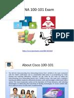 100-101 Dumps - Pass4sure Exam Questions