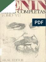 Obras Completas. Tomo 7 - Lenin