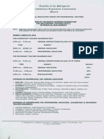 Let Examination Programs 2016