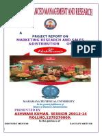 220687869 Marketing Project Report on Haldiram s