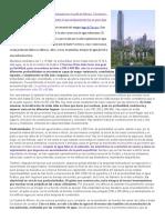 Hundimiento en La Ciudad de Mexico