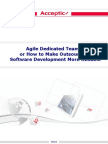 Agile Dedicated Development Teams - 5 Aspects To Know