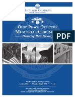 2010 Ohio Peace Officer Memorial Program
