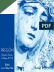 Pregón de la Semana Santa de Málaga - 2015