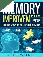 Memory Improvement - Peter Walker [EMMeT]