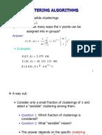 Ch12 Clustering Algorithms I Sequential Algorithms