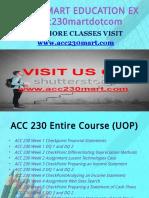 ACC 230 MART EDUCATION EXPERT / acc230mart.com