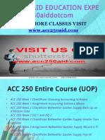 ACC 250 AID EDUCATION EXPERT / acc250aid.com