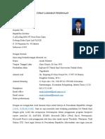 Cth 1. Surat Lamaran Pekerjaan Lengkap