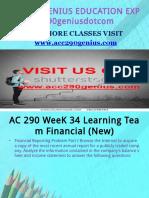 ACC 290 GENIUS EDUCATION EXPERT / acc290geniusdotcom