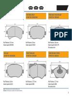 TVS brake pad catalogue