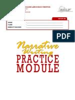 Narrative Writing Practice Module