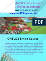 QNT 273 MASTER Education Expert/qnt273masterdotcom