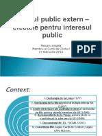 Efectele Auditului Public