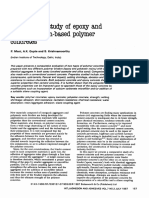 Comparative Study of Epoxy and Polyester Resin-based Polymer Concrete