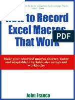 How to Record Excel Macros That Work