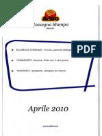 ADOC Rassegna stampa aprile 2010