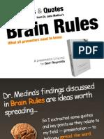 Brain Rules Presentation