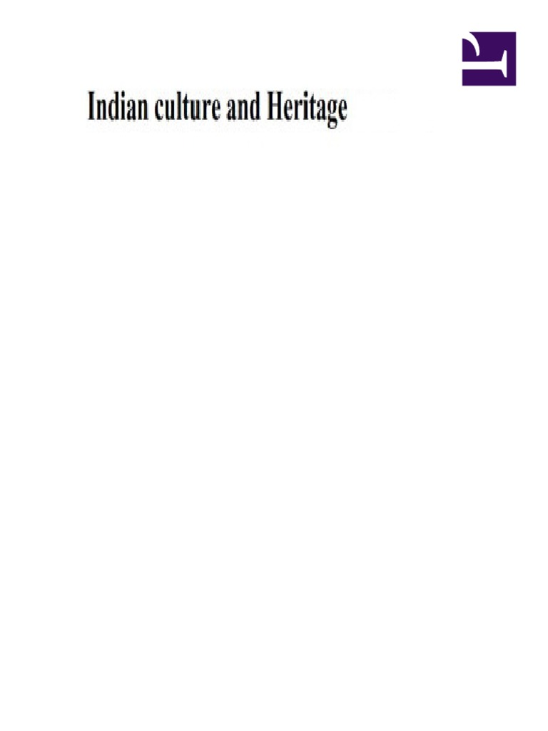 indian culture and heritage | Curriculum | Traditions