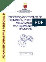 Mecanizado y Mantenimiento de Máquinas