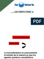 Toxicodinamica Resumen