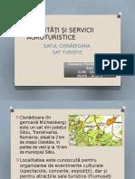 Activități Și Servicii Agroturistice