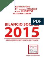 Rapporto 2015 Avvocato di strada