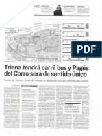 Reordenación del tráfico en Triana olvida bicicleta