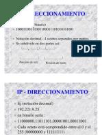 Repaso Direccionamiento IP