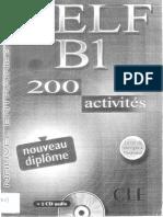 DELF B1 200 Activités