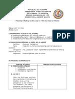 Sanaysay Ng Kalayaan Detailed Lesson Plan
