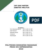 Sap Komunitas Penyuluhan Diabetes Melitus Pada Lansia