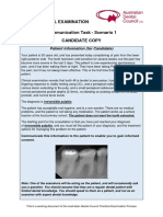 Clinical Communication Task Scenarios